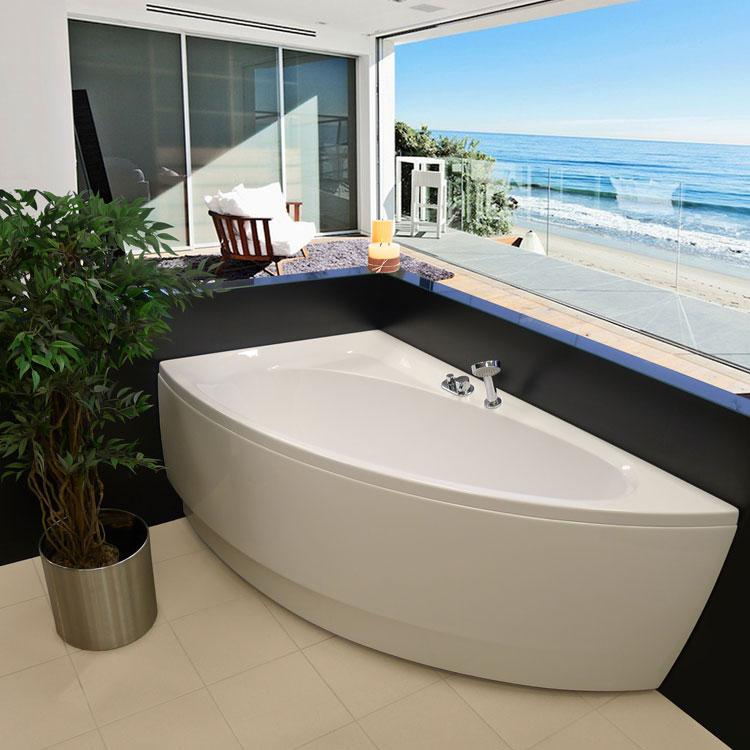 Vasche piccole interne idee bagno decorazione vasche da - Vasche da bagno piccole con seduta ...