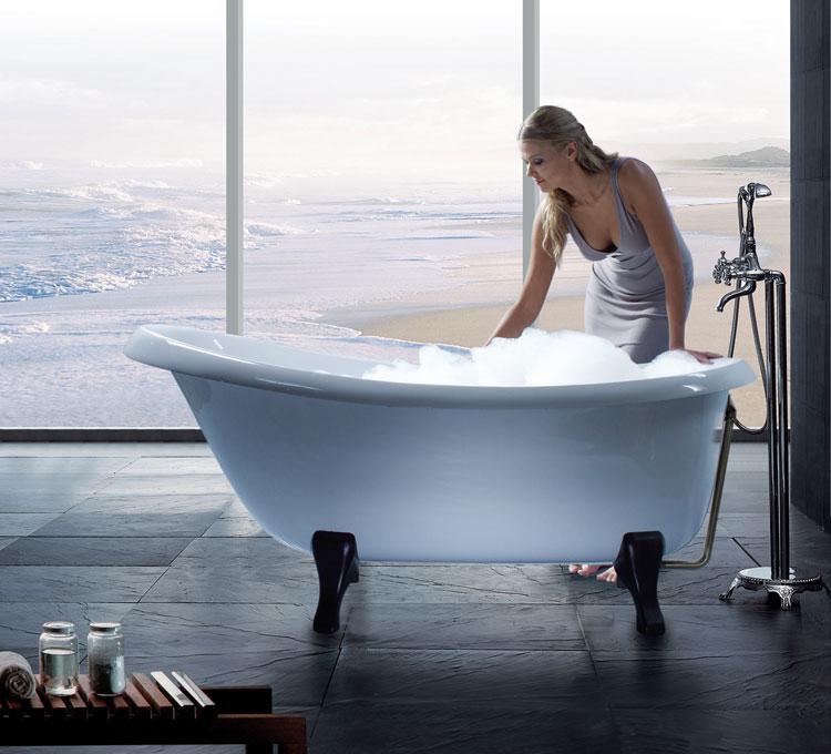 Foto della vasca da bagno moderna n.14