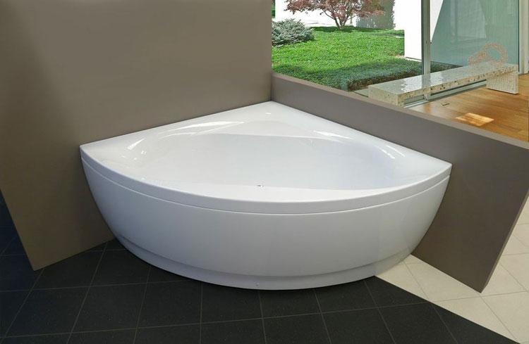 Foto della vasca da bagno moderna n.15