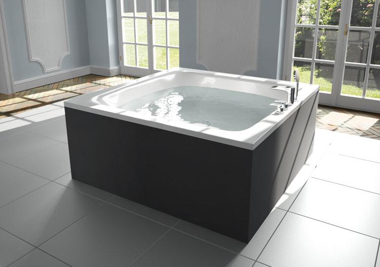 Foto della vasca da bagno moderna n.17