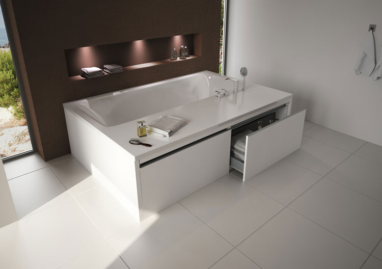 Foto della vasca da bagno moderna n.18