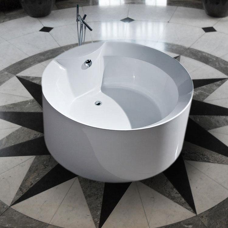 Casa immobiliare accessori vasche da bagno asimmetriche - Vasche da bagno ovali ...