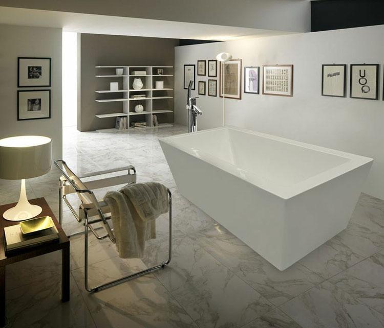 Foto della vasca da bagno moderna n.27