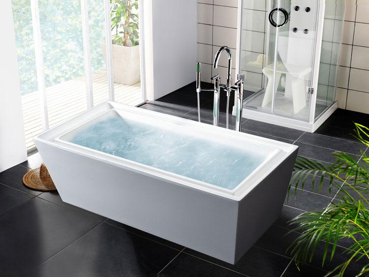 Foto della vasca da bagno moderna n.29