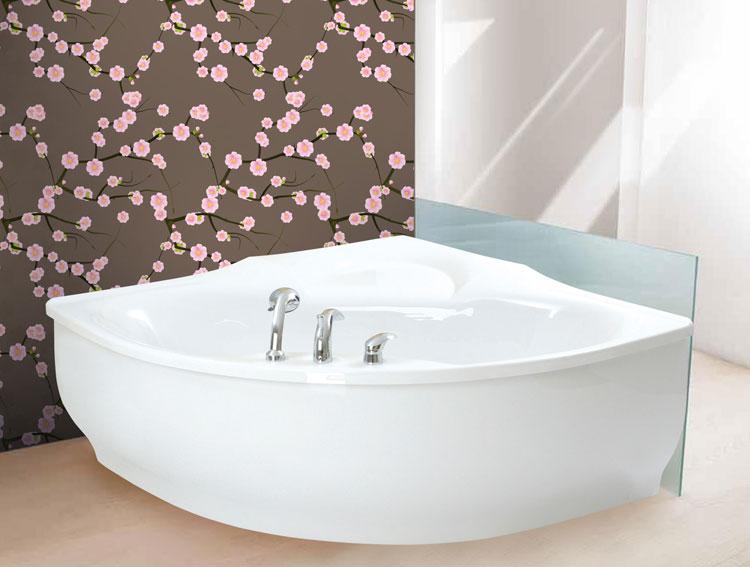 Foto della vasca da bagno moderna n.31