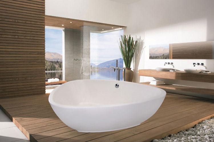 Foto della vasca da bagno moderna n.37
