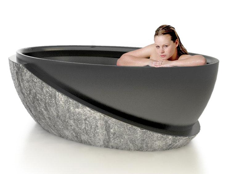 Foto della vasca da bagno moderna n.38