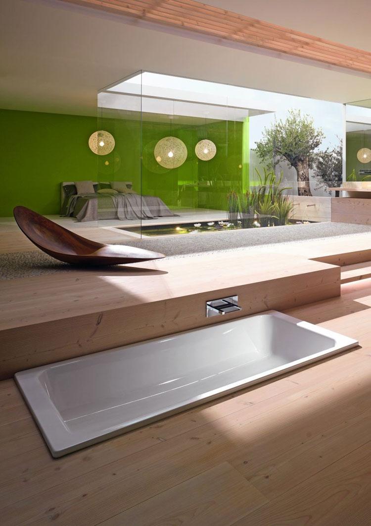 Foto della vasca da bagno moderna n.39