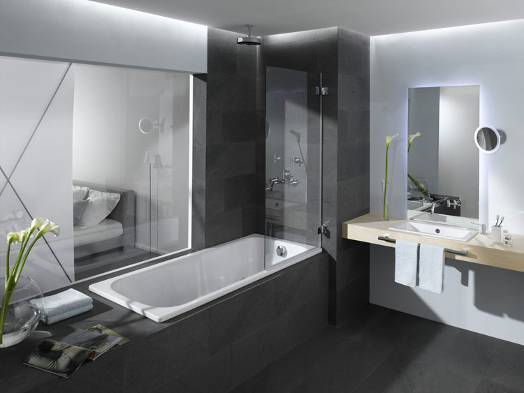 Foto della vasca da bagno moderna n.41