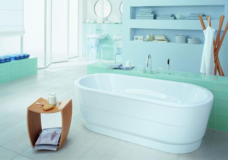 Foto della vasca da bagno moderna n.43