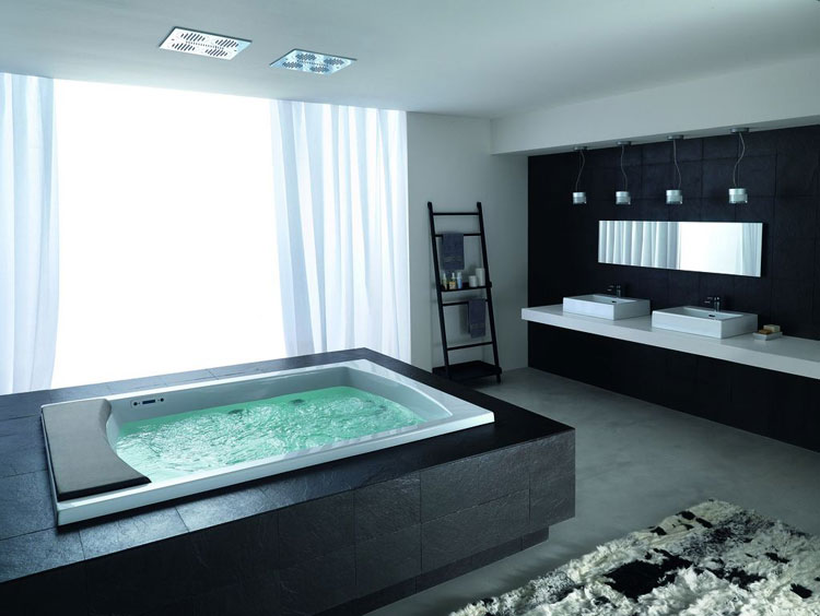 Foto della vasca da bagno moderna n.44