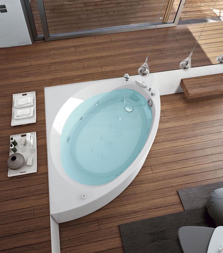 Foto della vasca da bagno moderna n.45