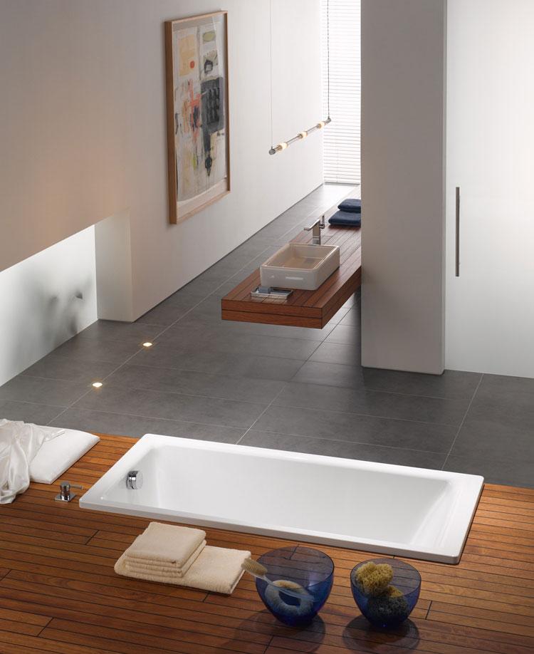 Foto della vasca da bagno moderna n.46