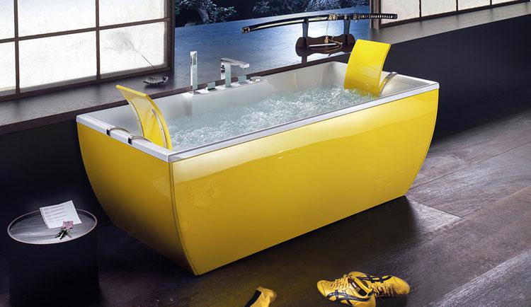 Foto della vasca da bagno moderna n.50