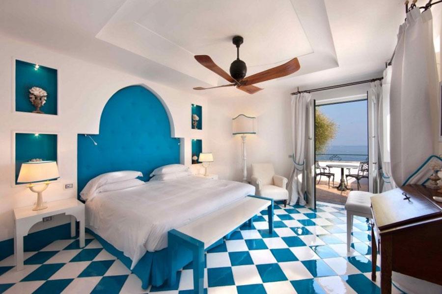 Camera dell'hotel di lusso Villa Tre Ville