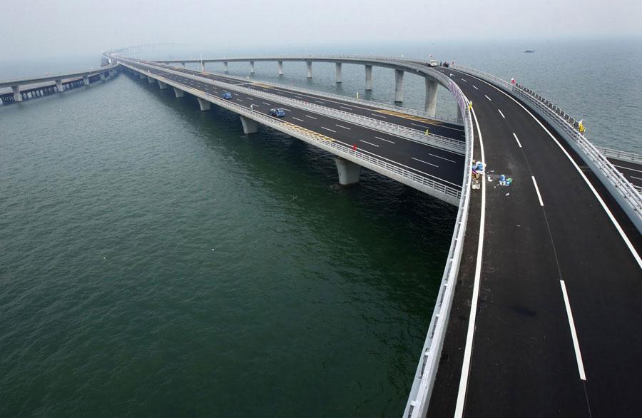 Grande ponte di Weinan Weihe