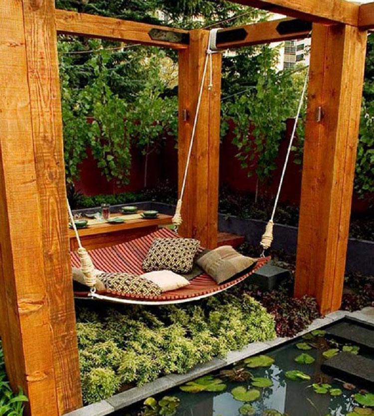 Amaca da giardino in stile moderno n.23