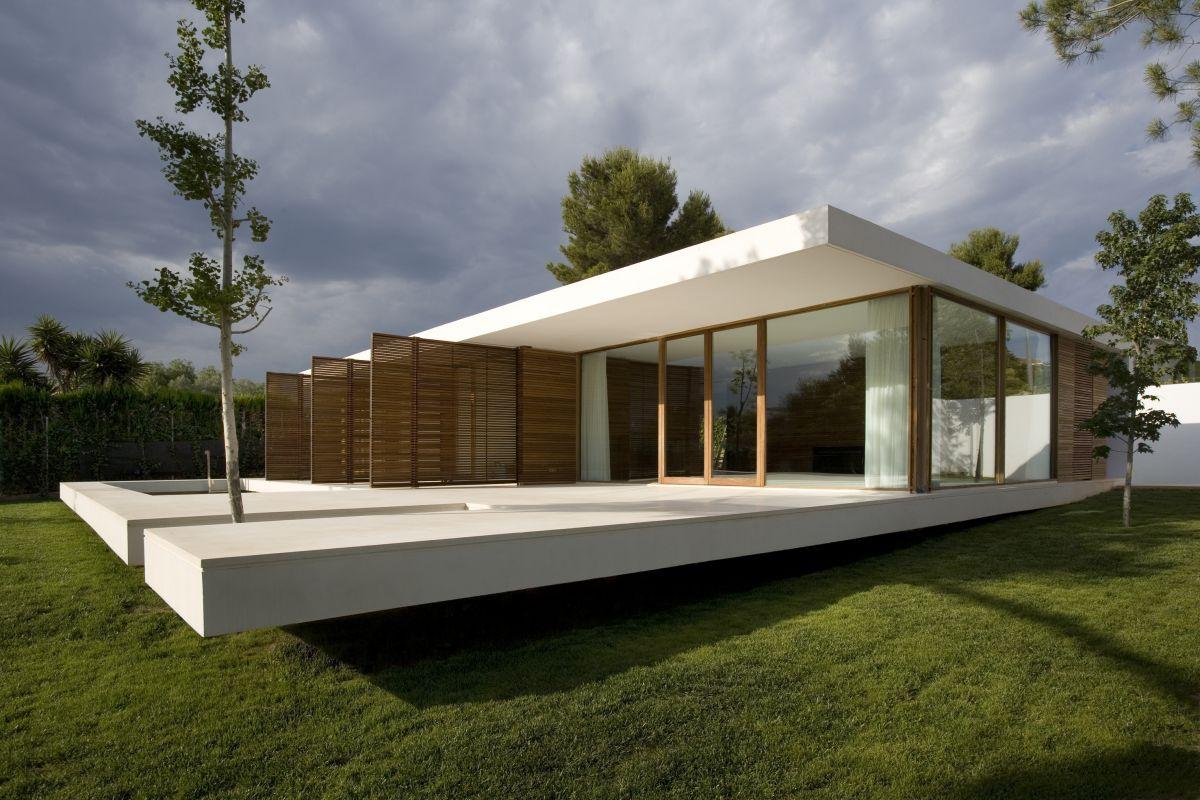 Casa minimalista moderna n.01