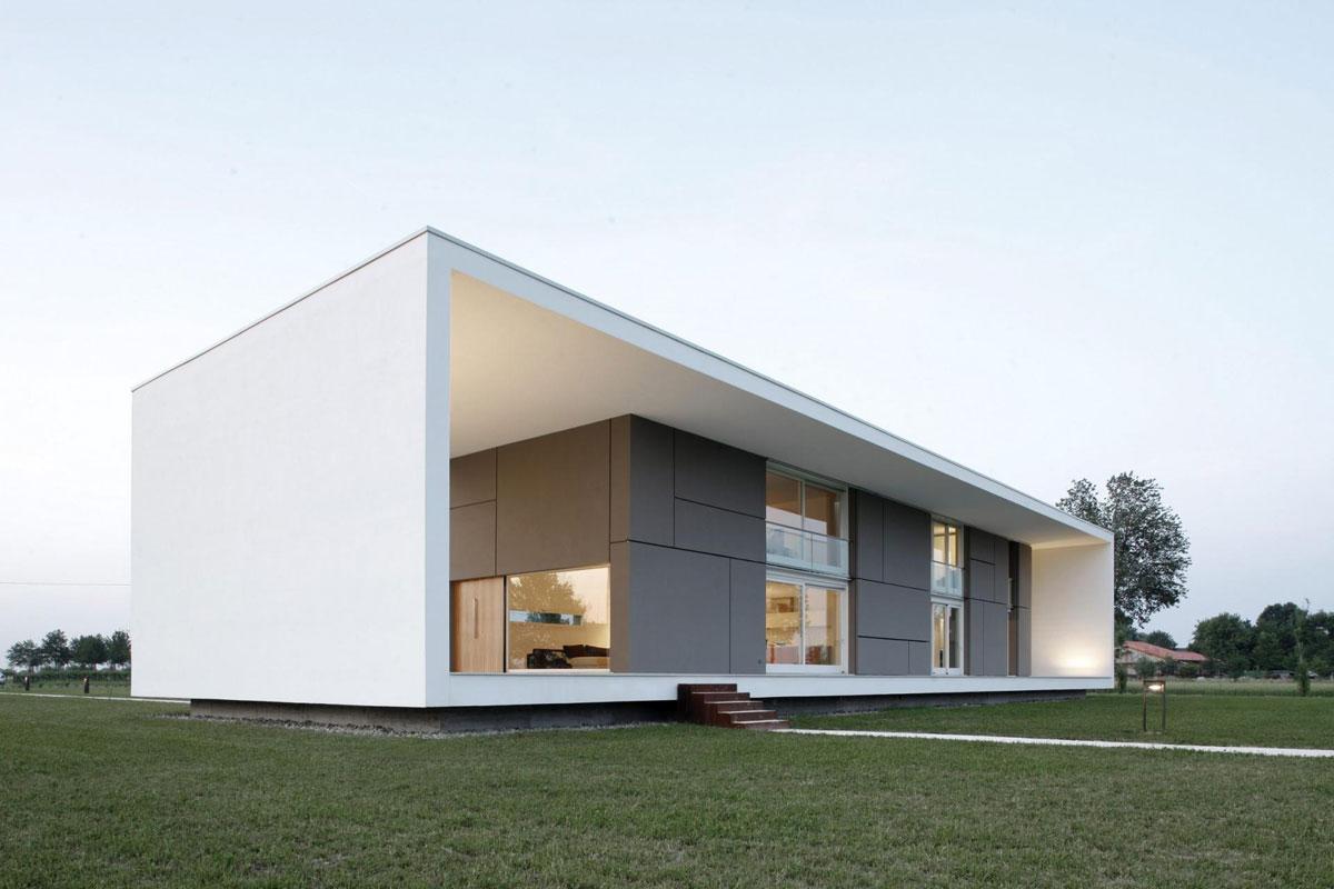 Casa minimalista moderna n.02