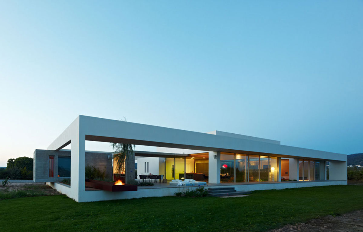 Casa minimalista moderna 20 foto di ville da sogno for Modern minimalist house plans