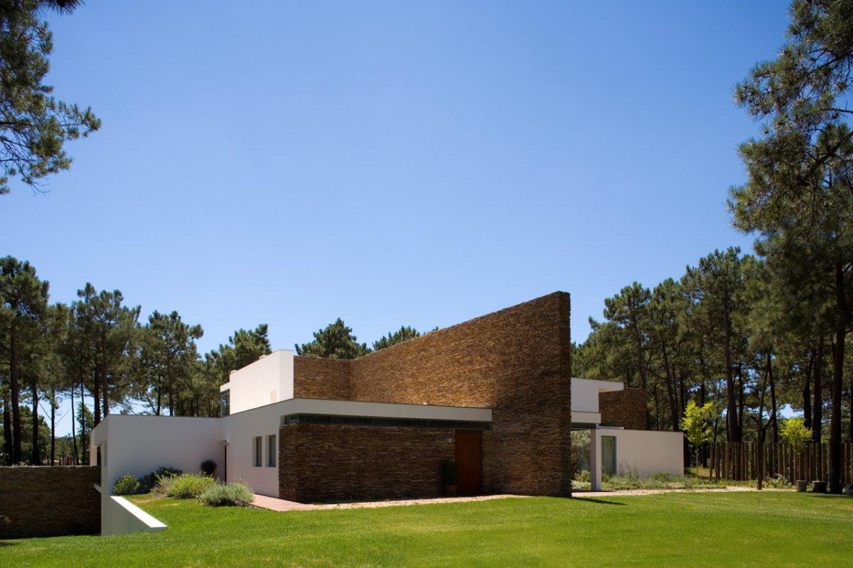 Casa minimalista moderna 20 foto di ville da sogno for Foto minimaliste