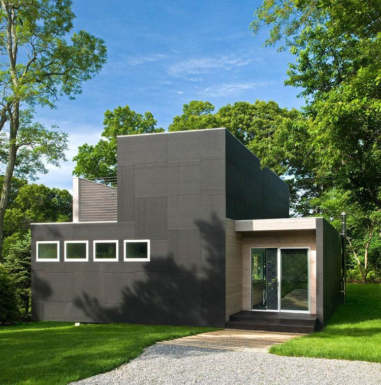 Casa minimalista moderna n.06