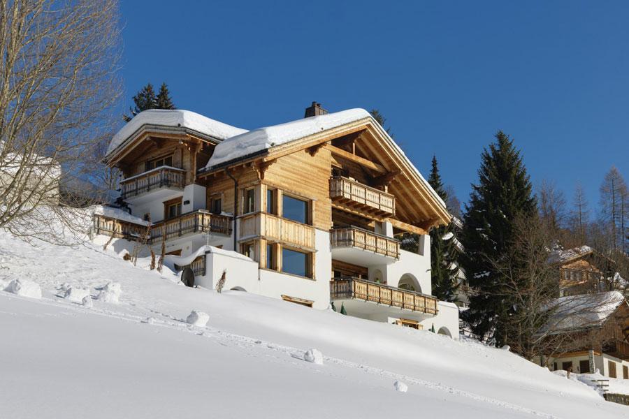Foto dello Chalet extra lusso Chesa Falcun in Svizzera