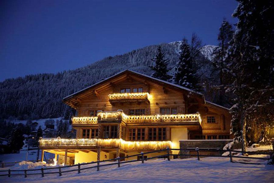 Foto dello chalet extra lusso Eugenia in Svizzera