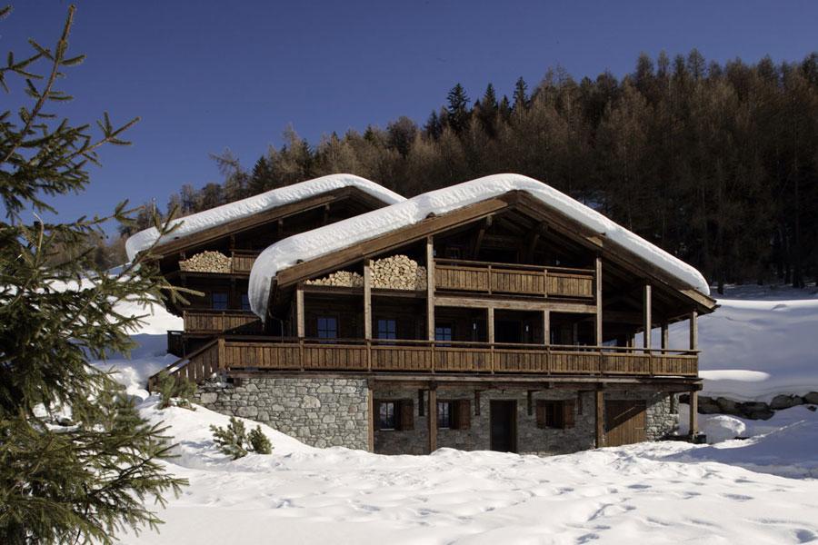 Foto dello chalet extra lusso Hidden Dragon in Svizzera