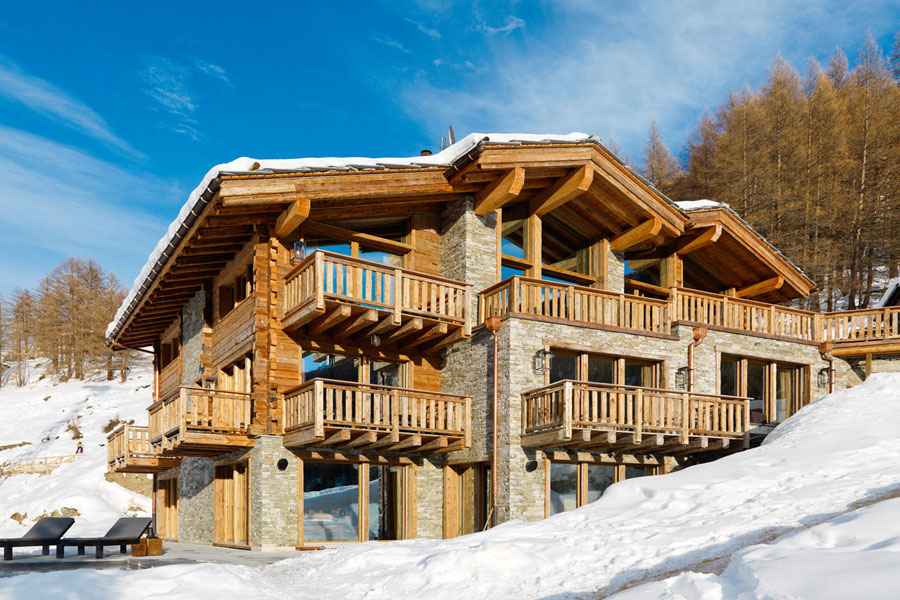 18 chalet extra lusso in affitto in svizzera. Black Bedroom Furniture Sets. Home Design Ideas