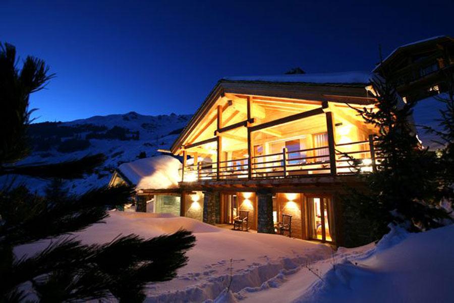 Foto dello chalet extra lusso spa in Svizzera