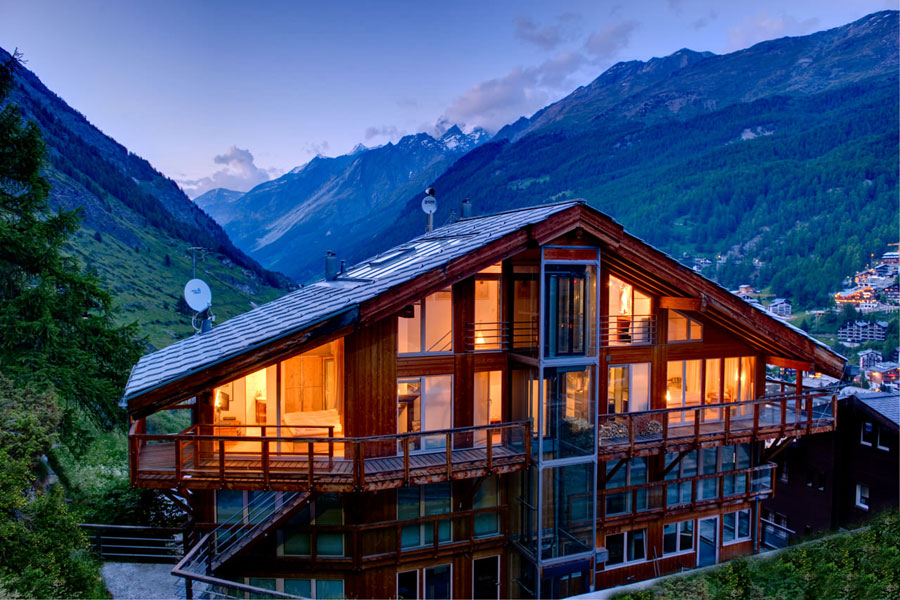 Foto dello Chalet The Heinz Julen Penthouse in Svizzera