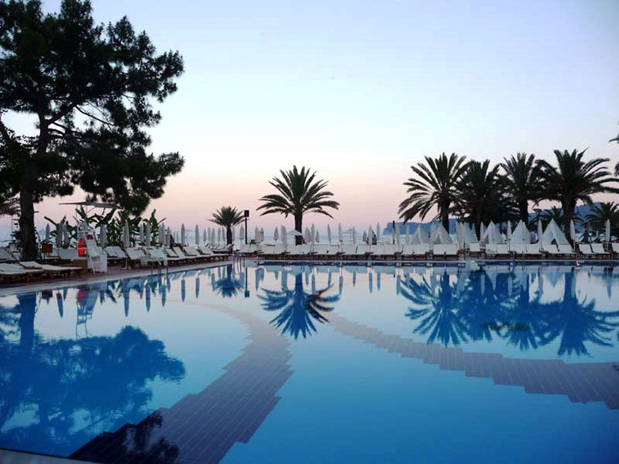 Piscina del resort Club Med Palmiye