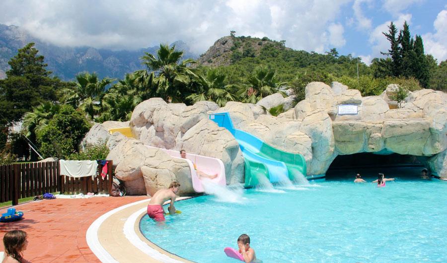 Scivoli d'acqua del resort Club Med Palmiye