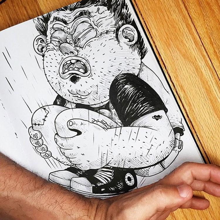 Disegno divertente n.10
