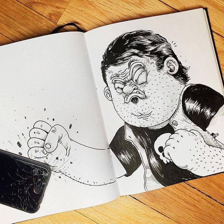 Disegno divertente n.12