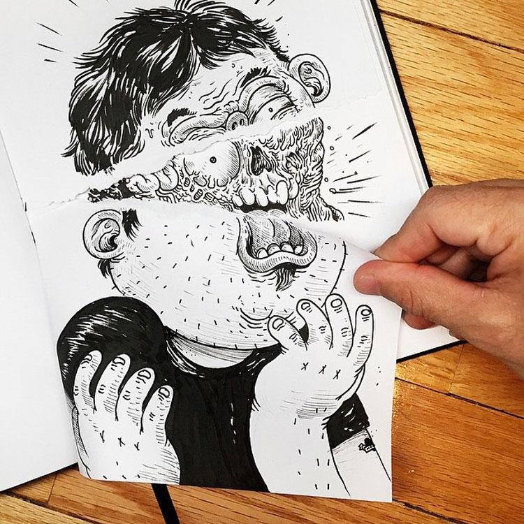 Disegno divertente n.16
