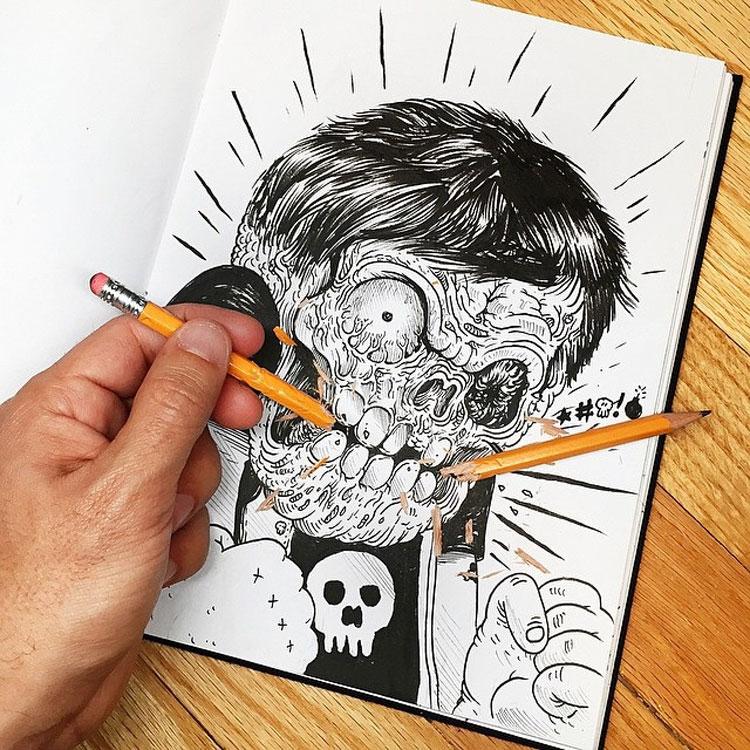 Disegno divertente n.17