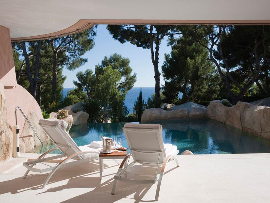 Piscina privata del Grand Hotel du Cap Ferrat