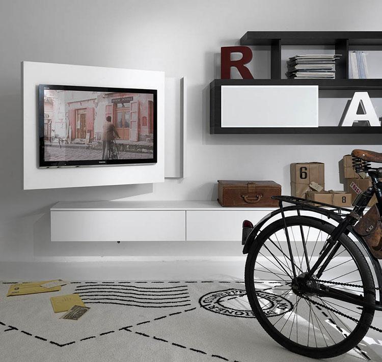 Modello di mobile porta TV moderno di Fimar n.02