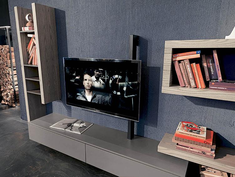Modello di mobile porta TV moderno di Fimar n.03