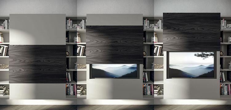 Modello di mobile porta TV moderno di Fimar n.05
