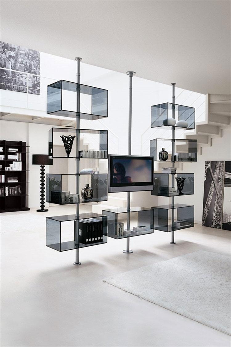 Modello di mobile porta TV moderno di Porada n.01