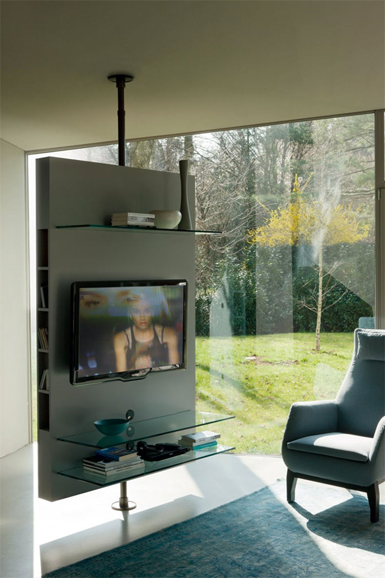 Modello di mobile porta TV moderno di Porada n.04