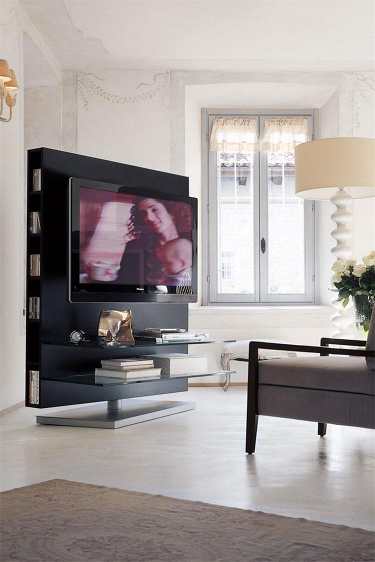 Modello di mobile porta TV moderno di Porada n.05