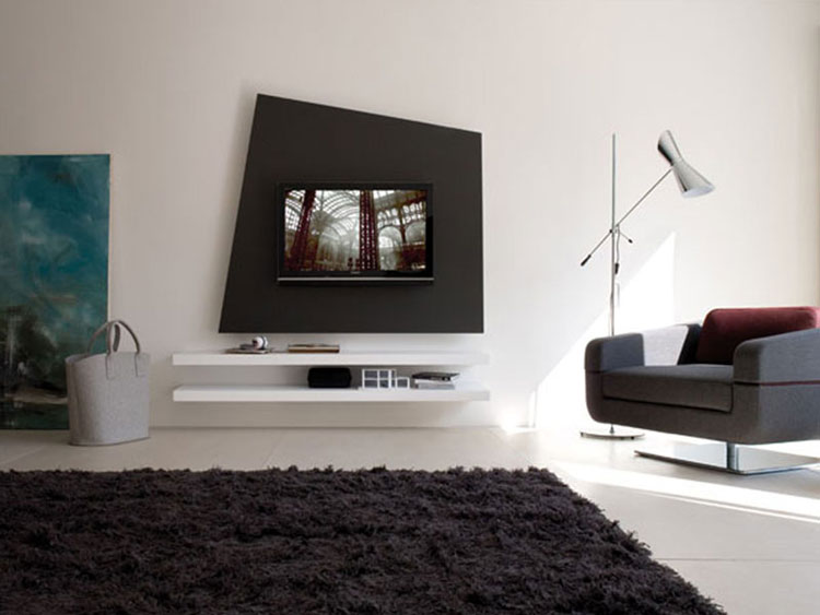 60 mobili porta tv dal design moderno for Design moderno