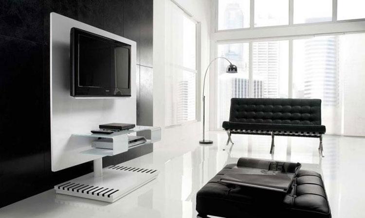 60 mobili porta tv dal design moderno for Mobili di design a basso costo