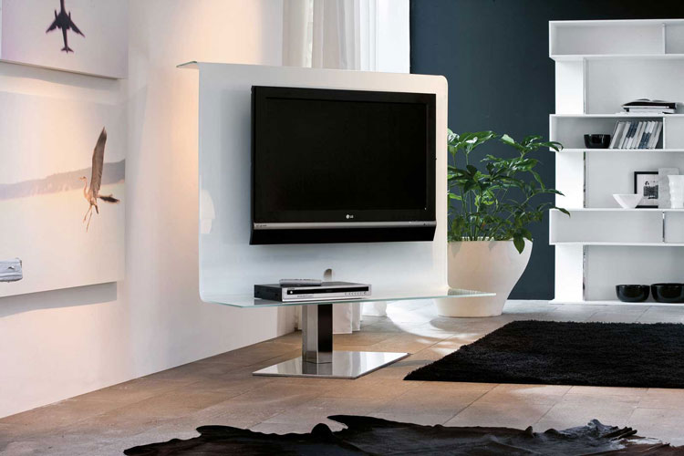60 mobili porta tv dal design moderno for Mobiletti tv ikea