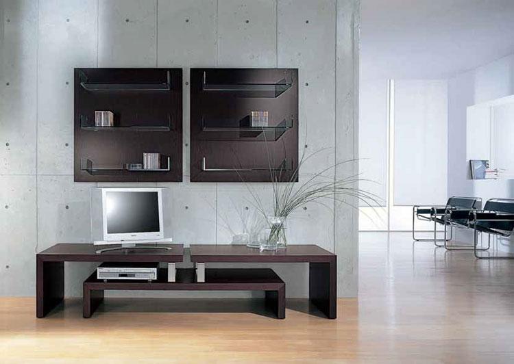 60 mobili porta tv dal design moderno - Mobiletto porta telefono stile moderno ...