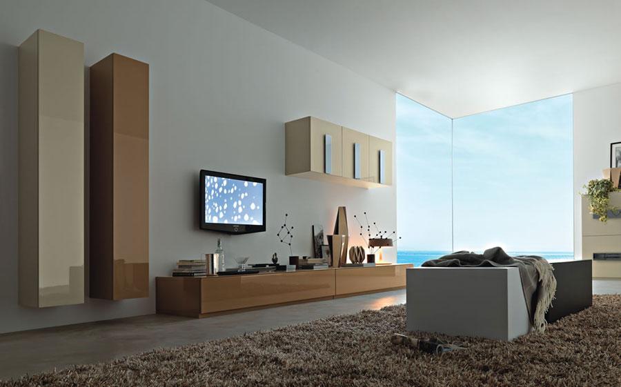Foto di pareti attrezzate dal design moderno n.01
